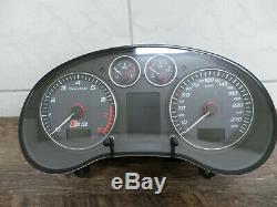 Audi S3 8P A3 Tacho Tachometer Speedometer Benziner 300 km/h 8P0920931C