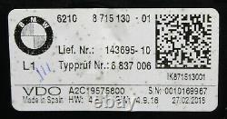 BMW 1er F20 F21 2er 3er Tachometer Tacho Instrumentenkombination 8715130 9840906