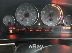 BMW E39 M5 Speedo tachometer clock instrument cluster meter 115016 miles