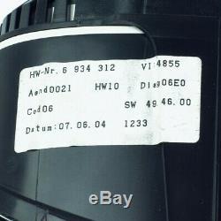 BMW E60 E63 E64 M5 M6 Instrumentenkombi I- Kombi Cluster bis 9000 U/min 46277 km