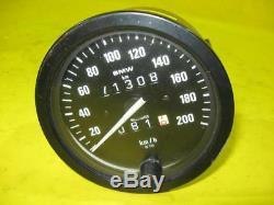 BMW R100 GS Tachometer Motometer 100mm W715 71308km speedometer