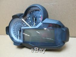 BMW R1200GS LC 2014 11,167 miles instruments clocks speedo (UK spec) (2694)