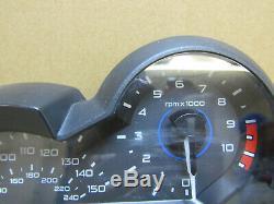BMW R1200GS LC 2017 20,206 miles instrument clocks speedo UK spec (3059)