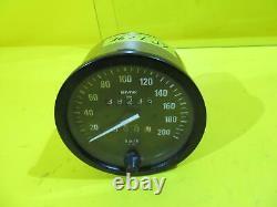 BMW R80R R100R Tachometer Motometer 100mm W735 39233km speedometer
