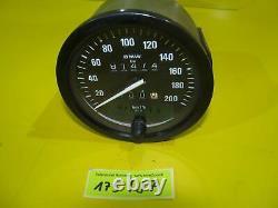 BMW R80 GS Tachometer Motometer 100mm W735 81474km speedometer