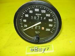 BMW R80 GS Tachometer Motometer 100mm W735 speedometer