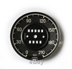 Blech Zifferblatt für Mercedes 190SL Tachometer Tacho Dial speedometer
