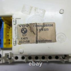 Bmw E28 Euro Clean Speedometer Tach Gauge Cluster 528e Oem Speedo 285km