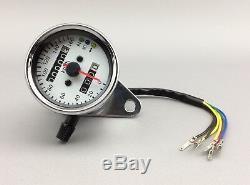 Cafe Racer Bobber Scrambler Custom Motorrad Mini Tachometer Speedometer Tacho