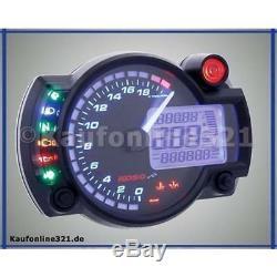 Cockpit RX2N+ Tachometer Drehzahlmesser KOSO GP NEU Tacho RX2N Plus BA015B25