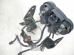 Cockpit Tacho Drehzahlmesser Lampenhalter / Tachometer Speedometer Honda CB 50 J