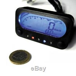 DANMOTO NANO Digital Speedometer Tachometer Speedo Tach Dash SP6