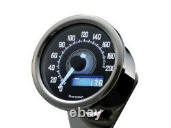 DAYTONA Digitaler Tachometer Speedometer VELONA D. 60 mm, bis 200 km/h