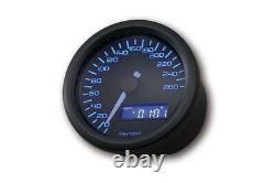 DAYTONA Digitaler Tachometer Speedometer, VELONA D. 60 mm, bis 260 km/h