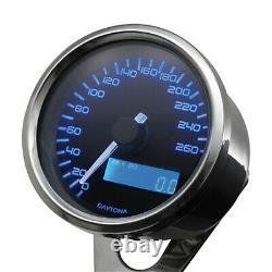 DAYTONA digital Tachometer speedometer tachymètre VELONA Ø60mm+ Drehzahlmesser