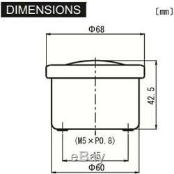 Daytona'Velona 2' Tachometer 60mm Speedometer 200km/h e-geprüft Kontrollleuchte