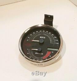 Electronic Analog Speedometer Speedo Tachometer Tach Combo Drop In Harley FLHR
