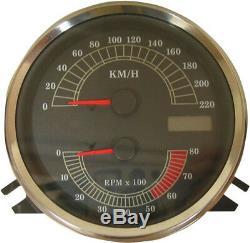 Electronic speedo-tachometer km/h HARLEY DAVIDSON SOFTAIL EFI HERITAGE ROAD
