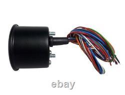 Elektronischer Mini-Tachometer speedometer tachymètre +Tageskilometer Ø48mm K1,4