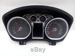 Ford Kuga Focus C-max Tacho Speedometer Compteur Fis Mph Miles 8v4t-10849-mf