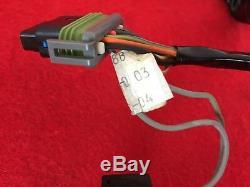 Genuine 2004 Harley Dyna Fxdl Speedo Tach Wire Harness Speedometer Tachometer