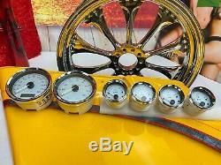 Genuine Harley 04-13 Touring Tachometer Speedometer Gauges Set Speedo Tach