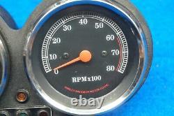 Genuine Harley Davidson FXR FXRS Speedometer Tachometer Speedo Tach 1982-1994
