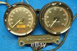 Genuine Harley Dyna Speedo Speedometer Tach Tachometer Mount Harness 1999-2003