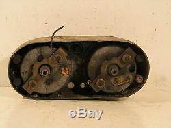 HARLEY AERMACCHI SPRINT 350 250 pl DASHBOARD SPEEDOMETER TACHOMETER SPEEDO TACH
