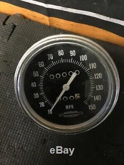HARLEY Ironhead Shovelhead SPEEDOMETER SPEEDO 150mph Smiths XLCH XLH FX FXE Spor