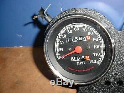 Harley Davidson FXR Dyna Speedometer Tacometer with Mount 7548