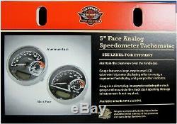 Harley-Davidson New Combo Digital Speedo-Analog Tach Aluminum Face 70900171