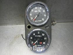 Harley Davidson Shovelhead FX Tachometer Tach Speedometer Speedo Gauge Bracket