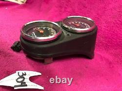 Harley Dyna Superglide Gauge Set Assembly Speedometer Tach Tachometer Speedo Oem