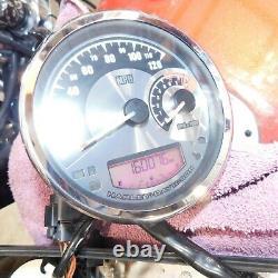 Harley Softail OEM Multi Gauge Speedo Tach 70900073A Road King Dyna 04-Later