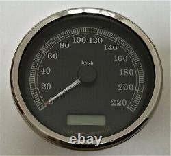 Harley Softail TACHO KM/H TACHOMETER SPEEDO 67197-08 Speedometer Road King Dyna