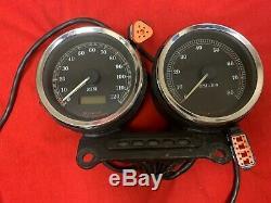 Harley Sportster Custom Gauges Meter Speedo Tach Speedometer Tachometer Complete
