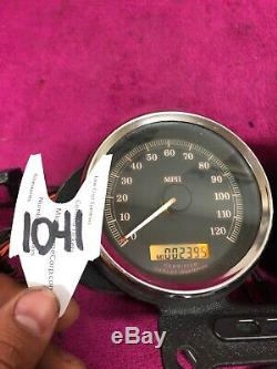 Harley Sportster Dyna Dual Guage Mount 2004 Speedo Speedometer Tach Tachometer