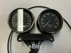 Harley Sportster XL 1200 Speedometer Speedo Tachometer Gauge Set 18k Miles