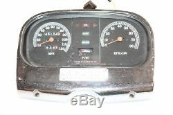 Harley Tour Glide Classic FLTC 1985 Speedo Tach Gauge With Mount and Trim
