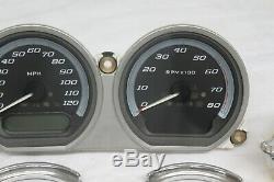 Harley Touring Ultra Road Glide Speedo Speedometer Tach Fuel Volt Gauges 2014-up