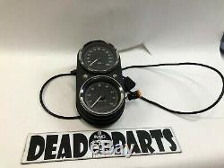Harley dyna low rider fxdl dual speedometer tachometer gauge speedo housing tach