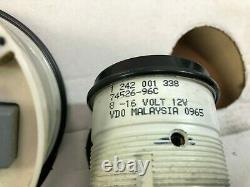 Harley stock flhx speedo tach speedometer tachometer fuel volt gauge 67442-04