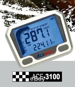 Honda Xr400r Xr600r Crf450x Yz450f Cr250x Cb500 Cb750 Acewell 3100 Speedo Tach