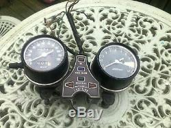 Honda cb400f clocks assembly speedo speedometer tachometer rev counter cb400