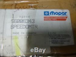 JEEP WRANGLER YJ'91 Tacho Tachometer Speedometer Mopar 56006343 NEU NEW