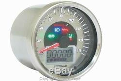 KOSO D64 Eclipse Style Tachometer