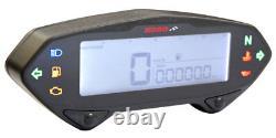 KOSO DB01RN Tachometer mit Drehzahlmesser E-Zeichen mit ABE BA041000 DB-01RN