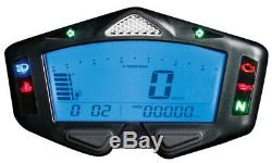 KOSO DB-03R DB 03 R DB03R Tacho Tachometer Drehzahlmesser RPM Temperatur ABE