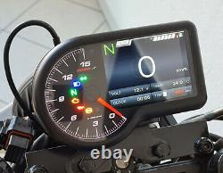 KOSO RX-3 RX3 Cockpit Tachometer Drehzahlmesser Voltmeter Thermometer BA071000